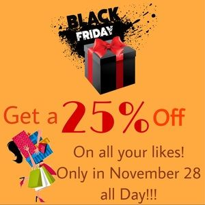 Black Friday Sale is coming!